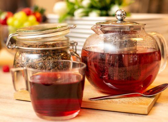 Ausgewählte Teesorten.